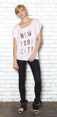 We love NYC @PROJECT - Kill City NEW YORK CITY SCREEN MUSCLE TEE    $54.00