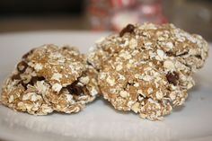 Chocolate Oatmeal Bites-- a healthier version.