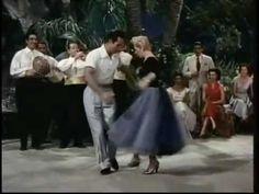 A Dance Lesson! - Ricardo Montalban, Lana Turner, Rita Moreno  I love Ricardo Montalban teaching the Samba.  Plus, he does a great demonstration of the Samba.