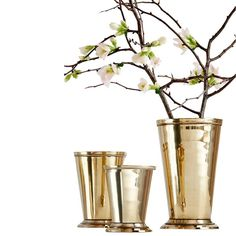Brass Julep Cup - Serene Spaces Living - $31.99 - domino.com