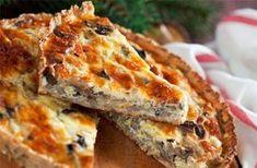 Καταπληκτική τάρτα μανιταριών!!! - Filenades.gr Lasagna, Quiche, Macaroni And Cheese, Food And Drink, Breakfast, Ethnic Recipes, Youtube, Morning Coffee, Mac And Cheese