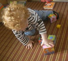 Un petit jeu de construction pour que bébé s'amuse