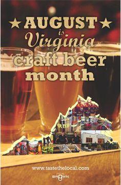 2014 VA Craft Beer Month #vacraftbeer