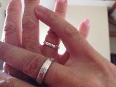 Silver ring making