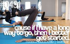Reason to be fit!
