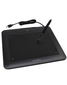HUION 8 x 6 inch Digital Graphic Drawing Tablet, 680s(Black) #0