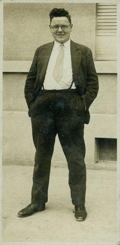Erich Grisar, um 1928