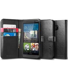 Spigen Wallet S Flip Case HTC One M9 Black