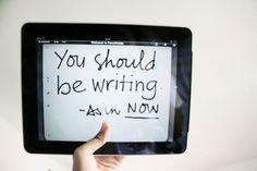 write inspiration