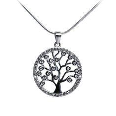 Ezüst életfa nyaklánc féldrágakövekkel Washer Necklace, Silver, Fantasy, Jewelry, Jewlery, Jewerly, Schmuck, Jewels, Fantasy Books