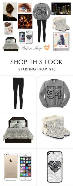 """""""Before sleep movie night with Asma <3"""" by louisericoul on Polyvore featuring mode, Helmut Lang, angelo:HOME, Accessorize et Polaroid"""