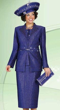 Elegant Women Church Suits | Plus Size Womens Church Suits BenMarc International 3pc Suit 4430 ...