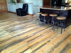 Beetle Kill pine flooring Bozeman, MT 1