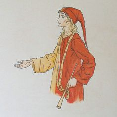 """Kate Greenaway for """"The Pied Piper""""."""