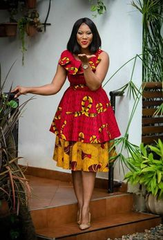 New Latest Short Ankara Styles For September In this month of September, we are celebrating African queens rocking the short Ankara dress trend. African Fashion Ankara, Latest African Fashion Dresses, African Print Dresses, African Print Fashion, Africa Fashion, African Dress, African Prints, African Fabric, African Dashiki