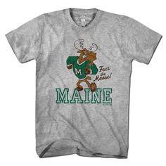 Fear The Moose Maine Mascot T-shirt