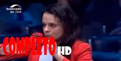 Janaina Paschoal pressiona  Belluzzo no julgamento do Impeachment. -  HD...