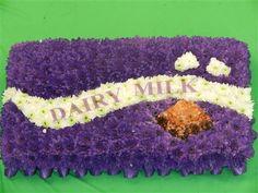 Cadburys Chocolate Bar Funeral tribute