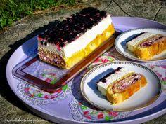 Sokerivaltakunta: Cheesecake roll (juustokakku-kääretorttu leivos)