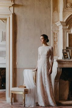 Our love for art and redefining the look of the wedding dress, crafting talent, couture details and simplicity in an elegant, glamorous way. Divine Atelier, Couture Details, Romantic Weddings, Dot Dress, Bridal Dresses, Amanda, Feminine, Glamour, Gowns