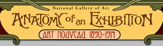 """Fascinating National Gallery of Art website about the """"Art Nouveau, 1890-1914"""" exhibit from October 2000 to January 2001"""