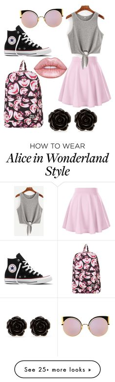 """""""Untitled #10"""" by kkshay01 on Polyvore featuring Converse, Disney, Erica Lyons and Fendi"""