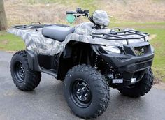 New 2016 Suzuki KingQuad 750AXi Camo ATVs For Sale in Wisconsin. 2016 Suzuki KingQuad 750AXi Camo, 2016 Suzuki KingQuad 750AXi Camo Trusted. Rugged. Reliable. Three decades of ATV manufacturing experience has led to the KingQuad 750 AXi Camo, Suzuki s most powerful and technologically advanced ATV. Abundant torque developed by the 722cc fuel-injected engine gives the KingQuad the get up and go that s a must-have for Utility Sport ATVs. With an independent rear suspension, locking front…