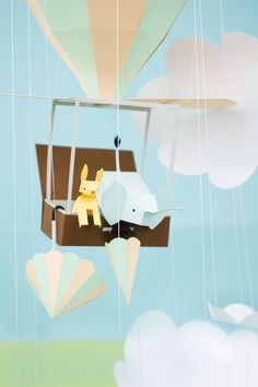 paper art III - story of a elephant and a dog!