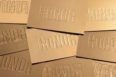 Honor - FW14 Invite on Behance