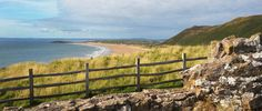 View over Rhossili Bay, Wales
