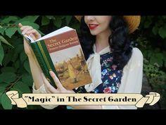 READING IN THE SECRET GARDEN   Relaxing Nature Magic Sleepy Hollow Book, The Creator, Magic, Club, Reading, Garden, Nature, Garten, Naturaleza