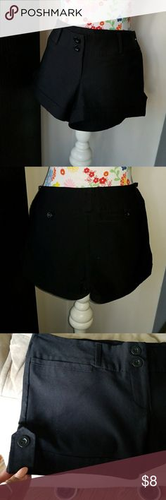 Misses black shorts sophisticated style, misses black dress up shorts, semi new, worn once or twice New Mix Shorts Cargos