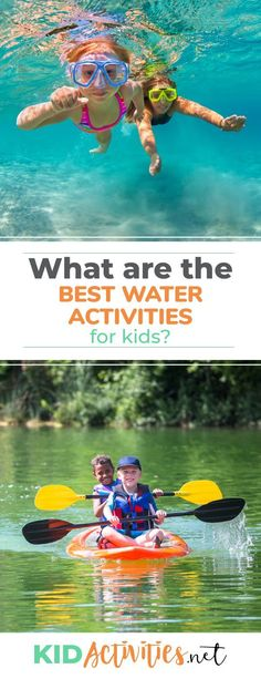 What are the best water activities for kids? Here we go over a wide range of activities such as water trivia, water science experiments, water art ideas, and much more. #kidactivities #kidgames #activitiesforkids #funforkids #ideasforkids