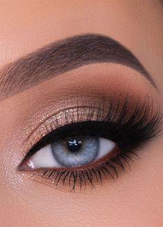 Gorgeous eyeshadow makeup Ideas for a fresh new look Makeup Eye Looks, Eye Makeup Steps, Eye Makeup Art, Natural Eye Makeup, Cute Makeup, Pretty Makeup, Stunning Makeup, Skin Makeup, Makeup Eyeshadow