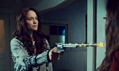 Wynonna Earp, how surprisingly awesome. Huh... frickin amazeballs and all that.
