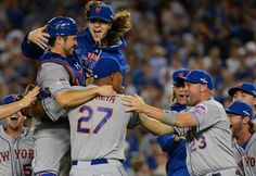 The New York Mets are going to the NLCS!