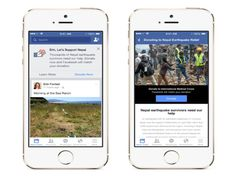 Facebook has raised $2m for Nepal earthquake relief effort by placing a donation tool in people's newsfeed. This model brings the news source and donation opportunity together for Facebook's 1.44 billion users in the same time and place, which could prove to be a powerful way to raise emergency funds in the future. http://newsroom.fb.com/news/2015/04/support-nepal-earthquake-survivors-an-easy-way-to-donate-facebook-to-match-up-to-2-million/