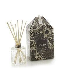 Voluspa Mini Reed Diffuser, Champaca Bloom & Fern, 100ml glass by Voluspa. $23.00. amazing fragrance. fragrant elegance. essential oils. affordable luxury. highest quality. Mini Reed Diffuser /Champaca Bloom & Fern