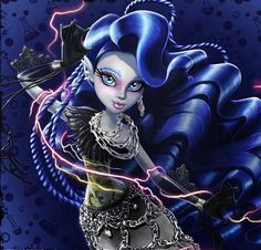 Sirena Von Boo - Half mermaid, half ghost ~ Monster High