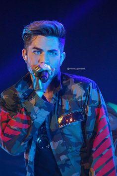 Military Glam-Adam Lambert, Nashville, TN, March 10, 2016