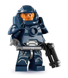 LEGO's toughest guy to date - Could well blend into any Sci-Fi blockbuster