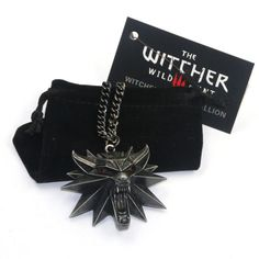 AMAZING DEAL ON! The Witcher 3: Wild Hunt Pendant & Chain GEEK OUT!! #geek #shopgeekfreak