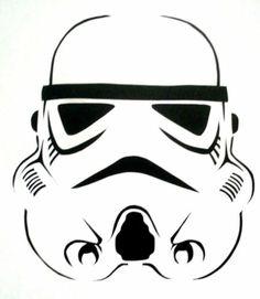 Storm Trooper Stencil for Airbrush Tattoo Craft Art | eBay