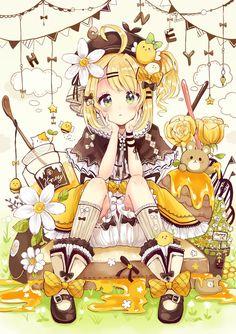 Read Anime Girl Food from the story Ảnh Anime Đẹp ( 2 ) by Kiritoboy (Kirigaya Yuki) with reads. Moe Anime, Chica Anime Manga, Kawaii Anime Girl, Kawaii Art, Anime Art Girl, Anime Chibi, Cute Food Drawings, Kawaii Drawings, Beautiful Anime Girl