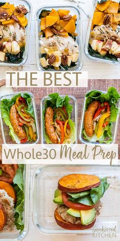 3 Easy Lunch Recipes - - 3 Easy Lunch Recipes Essen aus aller Welt 3 EASY LUNCH IDEAS / Three delicious lunch options that take 20 minutes to prepare! Easy, healthy, paleo lunch options for meal prep. Whole Foods, Whole 30 Diet, Paleo Whole 30, Whole 30 Lunch, Whole 30 Meal Plan, Whole 30 Meals, Whole 30 Snacks, Lunch Meal Prep, Healthy Meal Prep