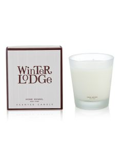 Winter Lodge Candle