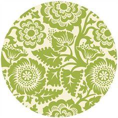 Joel Dewberry Heirloom, HOME DEC, Blockprint Blossom Green...curtains?