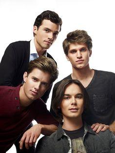 The boys of Pretty Little Liars