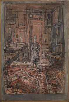 The artist's mother 1950 Alberto Giacometti