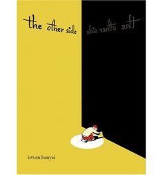 A wordless picture book that shows a series of familiar scenes through many twists in point of view, such as a boy looking down out of a jet's window and another boy on the ground looking up at the same jet.